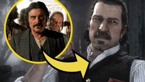 Ian McShane Red Dead Redemption