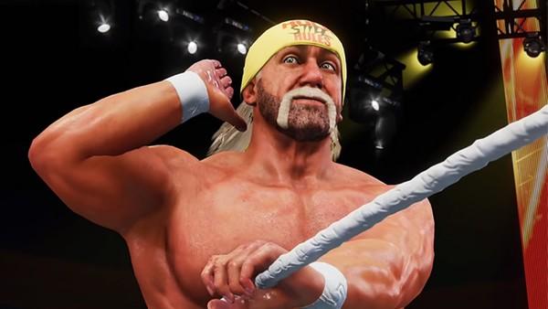 WWE 2K Hulk Hogan