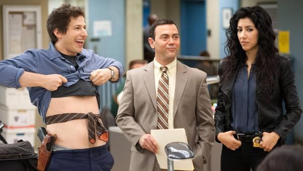 Brooklyn Nine-Nine Jake Boyle & Rosa