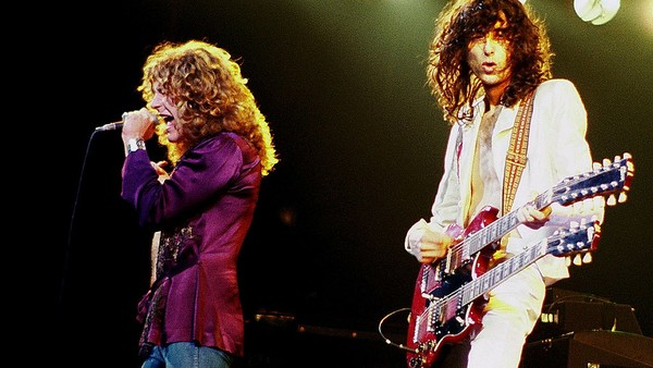 Jimmy Page Robert Plant Led Zeppelin