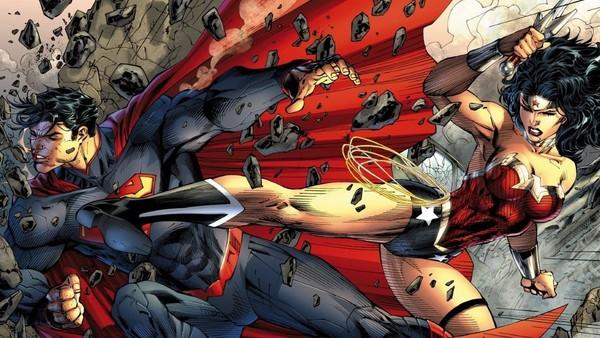 Wonder Woman Superman