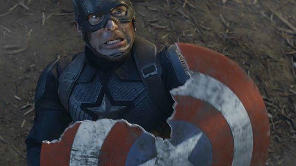 Avengers Endgame Captain America destroyed shield
