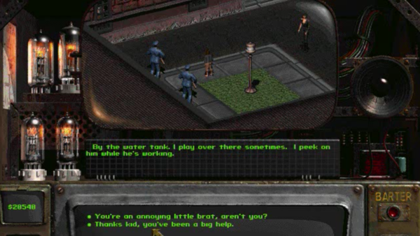 Fallout child killer