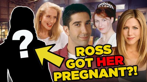 Ross Friends Pregnant