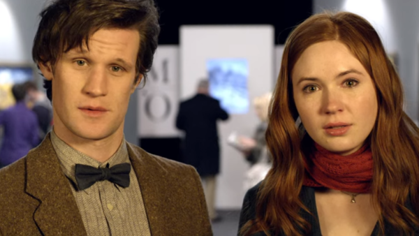 Doctor Who Vincent and the Doctor Matt Smith Karen Gillan