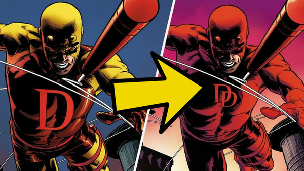 Daredevil Yellow Red