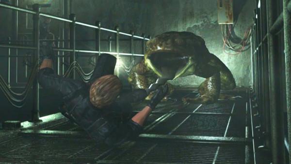 Resident Evil Frog