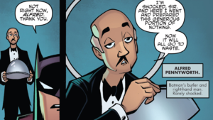 Alfred Pennyworth Portion of Nothing