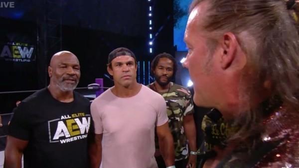 Chris Jericho Mike Tyson