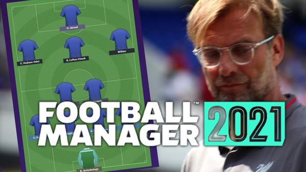 Football Manager 2021 Jurgen Klopp