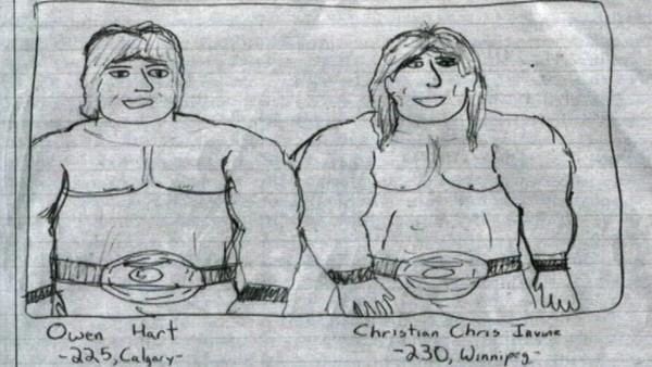 Chris Jericho Owen Hart