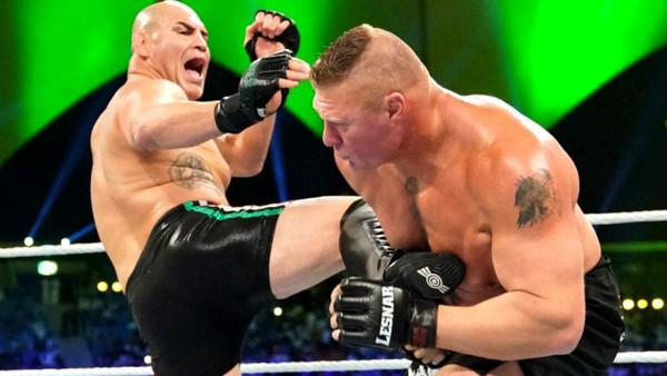Cain Velasquez Brock Lesnar
