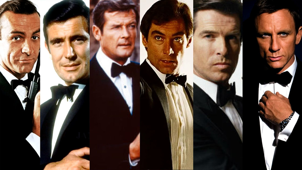 James Bond By Actor