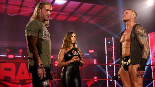 Spoiler From Edge Vs Randy Orton Taping At WWE Backlash 2020 1