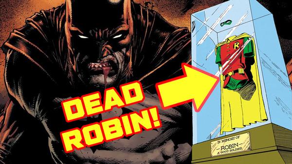 Batman Robin Jason Todd Batcave