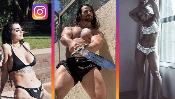 WWE Instagram 3 May