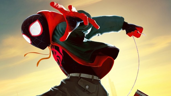 Spider-Man Into the Spider-Verse Miles Morales Poster