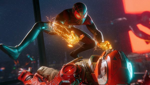 Spider-Man Miles Morales Venom Blast