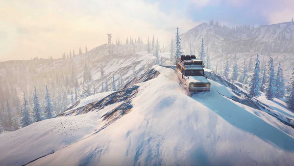 Snowrunner game
