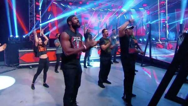 WWE developmental crowd