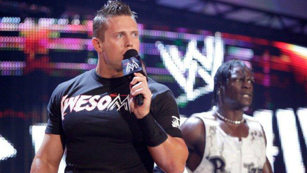 The Miz R-Truth Awesome Truth