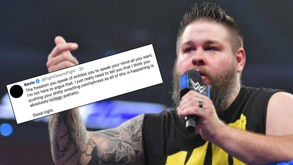 Kevin Owens shoots