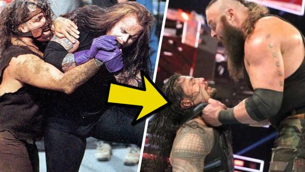 Mankind Undertaker Roman Reigns Braun Strowman