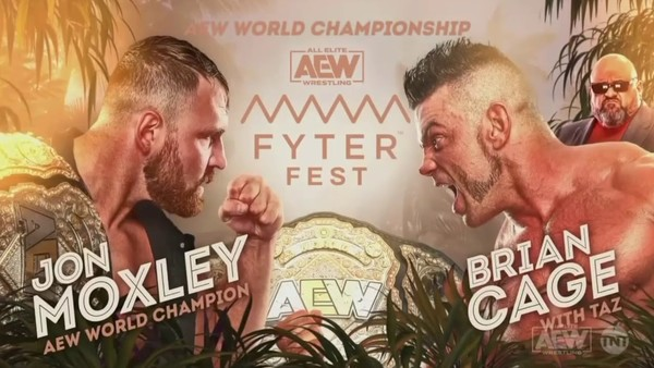 Jon Moxley Brian Cage Fyter Fest