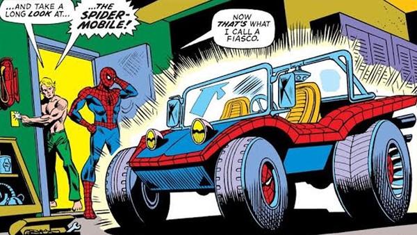Spider-Man Organic Webbing
