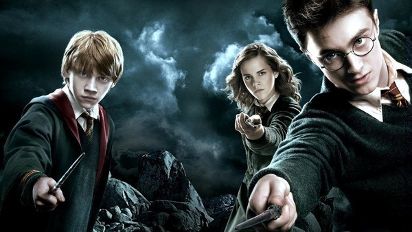 Harry Ron Hermione Harry Potter