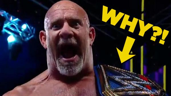 Goldberg Universal Champion