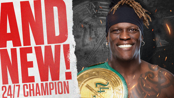 R-Truth WWE 24/7 Title