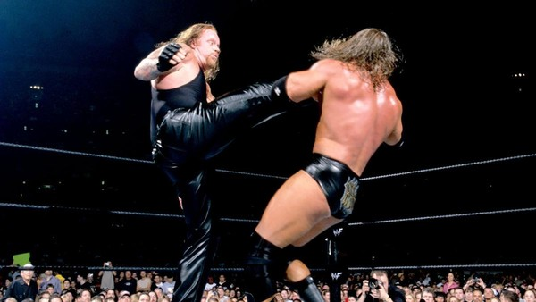 The Undertaker Triple H WrestleMania X-Seven