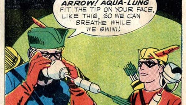 Green Arrow Nth Metal