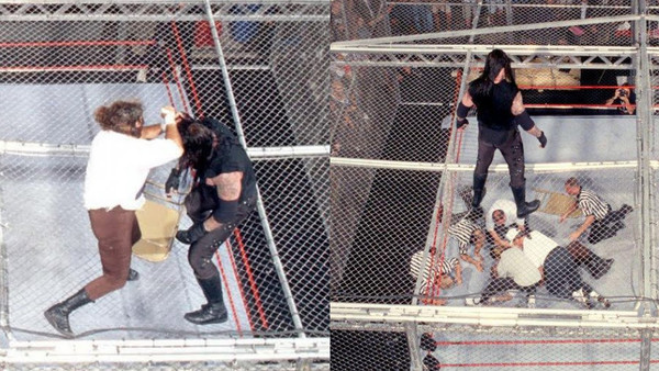 The Undertaker Mankind Hell In A Cell King Of The Ring 1998