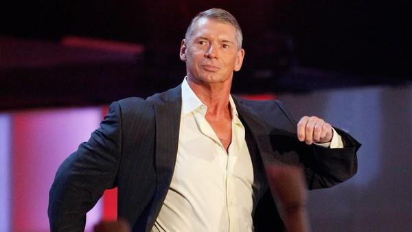 Vince McMahon swag walk