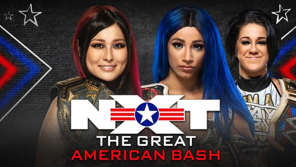 Io Shirai Sasha Banks Great American Bash