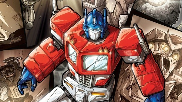 Transformers Optimus Prime IDW