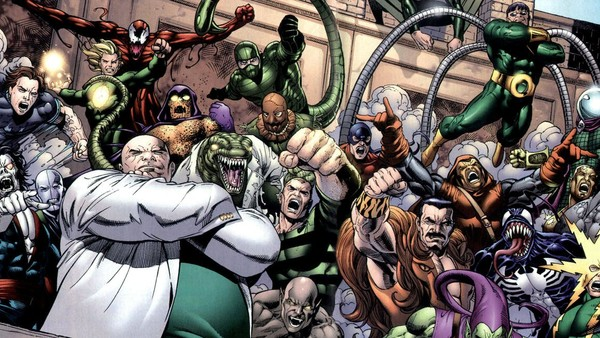 spider-man rogues' gallery