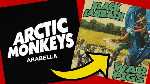 Arctic Monkeys Arabella Black Sabbath war Pigs