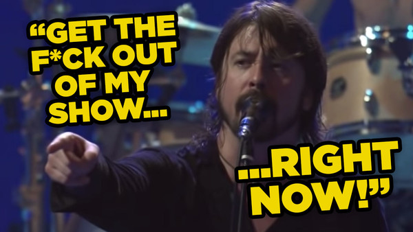Dave Grohl Gig Fight