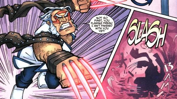 Batman Wolverine Dark Claw