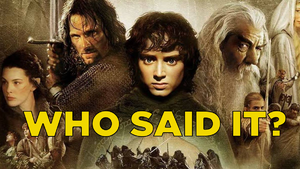 The HARDEST Lord Of The Rings Quotes Quiz On The Internet!