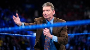 WWE Chairman Vince McMahon High Up On Three Female Wrestlers