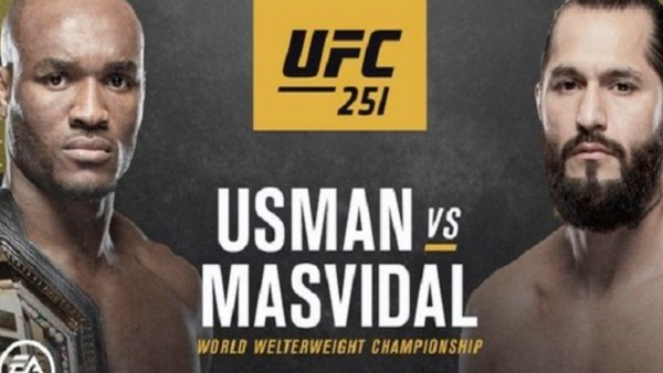 UFC 251 Usman Masvidal