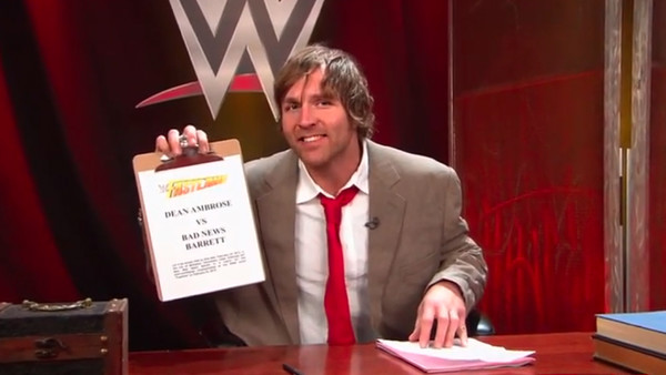 Dean Ambrose Contract