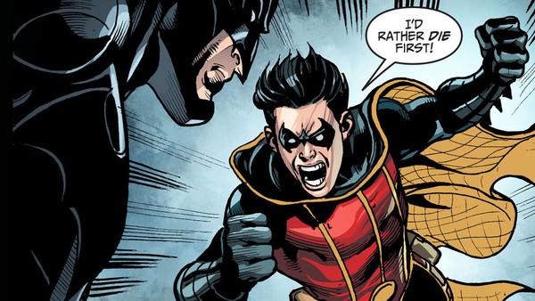Robin quits