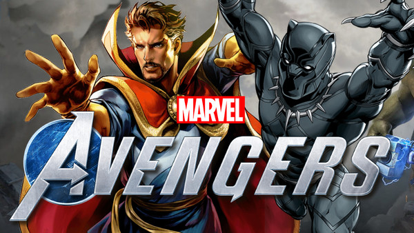 Marvel's Avengers Doctor Strange Black Panther