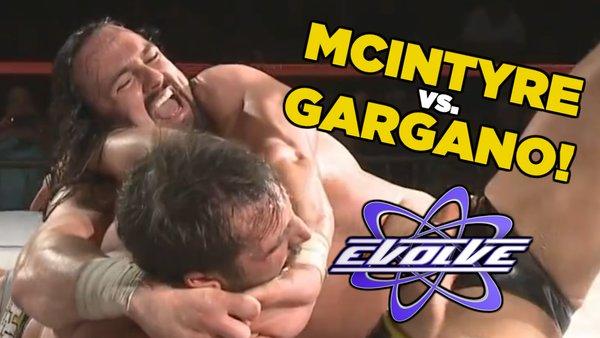 Drew McIntyre vs. Johnny Gargano Evolve