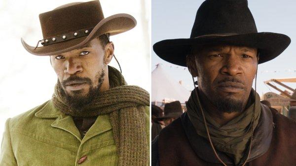 Django Unchained A Million Ways to Die in the West Jamie Foxx